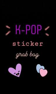🚚 kpop stickers grab bag