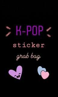 🚚 kpop stickers grab bag