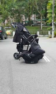 Stroller & Baby Carseat
