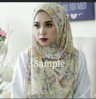 Exclusive Instant Printed Shawl from Jules Collection