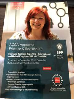 ACCA Strategic Business Reporting Practice and Revision kit