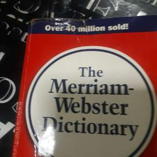 Mirriam  Webster Dictionary