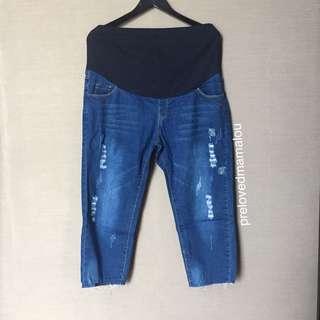 Maternity jeans / celana hamil #maudecay