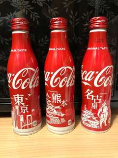 可口可樂日本地區 Coca Cola Japanese edition