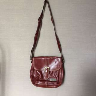 Saint Barbara Leather Bag / tas bahu / tas slempang #maudecay