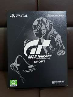 Limited Edition Gran Turismo The Real Driving Simulator SPORT PS4