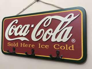 Authentic Coca Cola signboard