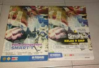 Buku Soal-Soal Matematika, Bahasa Indonesia, Bahasa Inggris, Biologi, Fisika, Ekonomi, Geografi, PKN, Sejarah 9 SMP