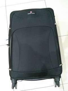 "Luggage/ koper black 28"" 8 roda"