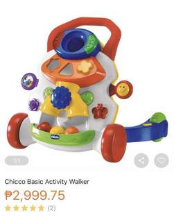 Chicco Basic Activity Walker