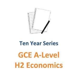 2007-2016 HCI  H2 Economics + SAJC solution for 2013 - 2016 Exam Paper / 2 sets  : HCI and SAJC 👍 / H2 Economics / Hwa Chong Institution / St Andrew Junior College / Exam paper / HCI / HCJC / SAJC / exam paper / 9757
