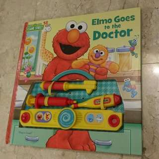 Elmo Goes to the Doctor Sesame Street Sound Book