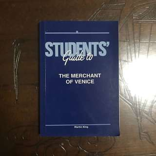 student's guide to merchant of venice