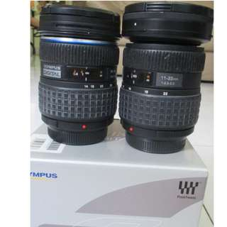 High Quality  Olympus 43 Lenses 14-54mm & 11-22mm