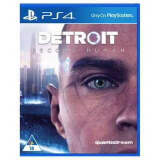 BN Detroit Become Human PS4