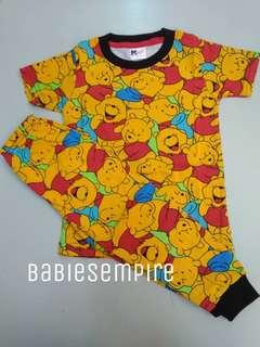 Printed pyjamas pooh