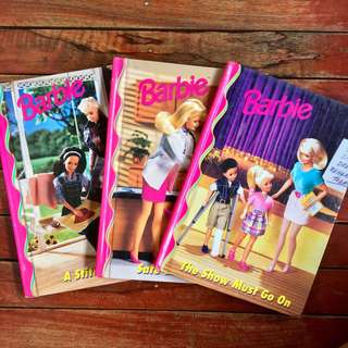 Barbie Hardbound Story Book (3 sets)