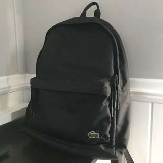 New Authentic Lacoste Backpack