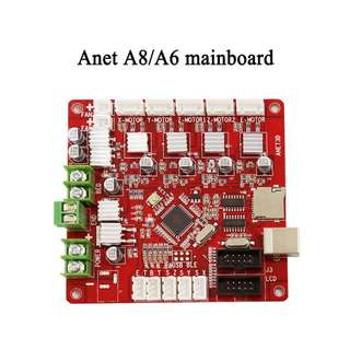 Anet A6 A8 3d printer controller parts MotherBoard Mainboard DIY Self Assembly Desktop Printer Prusa i3 Kit V1.0 RepRap