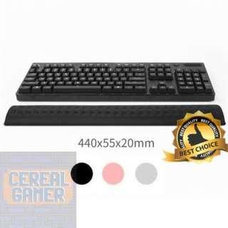 🚚 (New) Black Memory Foam Keyboard Hand Rest