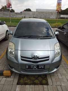 Dijual Toyota Yaris E/MT STNK 2009, Produksi 2008