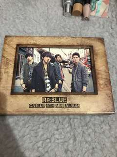 CN BLUE Re: Blue 4th Mini Album