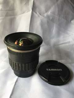 Tamron 11-18mm f/4.5-5.6 di-ii lens ( Manual Focus only)