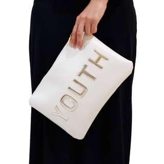 Pouch putih - pouch pesta - tas pesta - clutch pesta