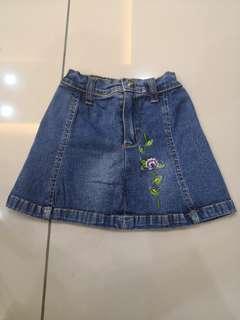 Jijo Jeans Skirt(2-3y)