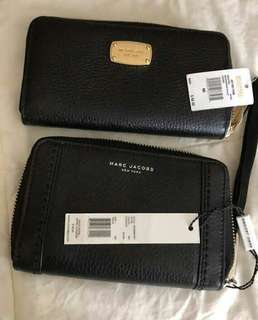 Bnew Michael Kors and Marc Jacobs Wallet
