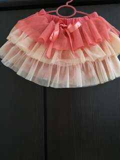 Pinky girl Tutu Skirt