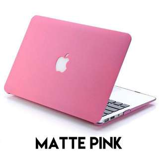 "🚚 Limited time only: Matte pink case for 13"" Macbook Air"