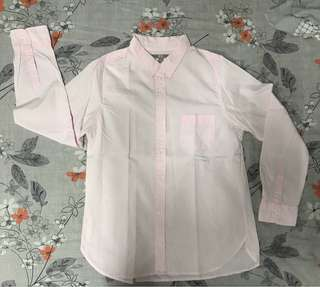 Uniqlo Pink Love Sleeves Polo (Ladies)
