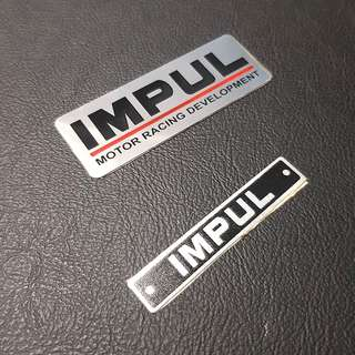 NISSAN Car Emblem Logo ' IMPUL - MPTOR RACING DEVELOPMENT '