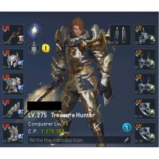 LINEAGE 2 REVOLUTION DION Lv 275 TREASURE HUNTER - LOADED FOR BEAR!