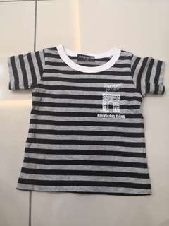 Eleve Stripes Shirt(6-12m)