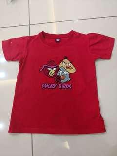 D Red Shirt(4-5t)