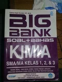 BigBank soal Kimia SBMPTN