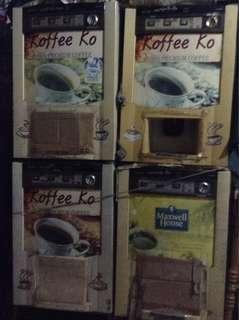 Repriced Coffee vending machine