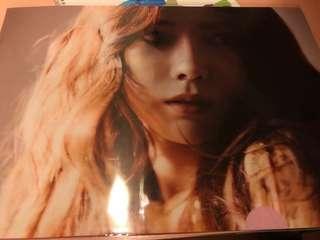 Taeyeon日本showcase周邊folder