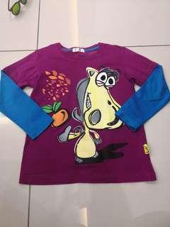 Jkids Shirt(5-6y)
