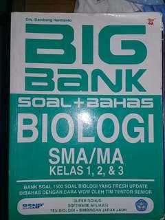 Bigbank soal biologi sbmptn