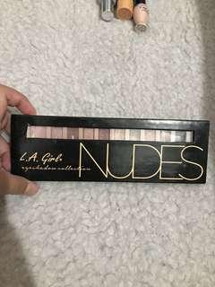 LA Girl Eyeshadow Palette Nudes