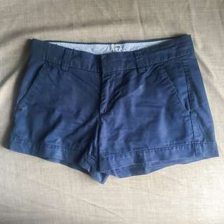 Uniqlo navy blue chino shorts
