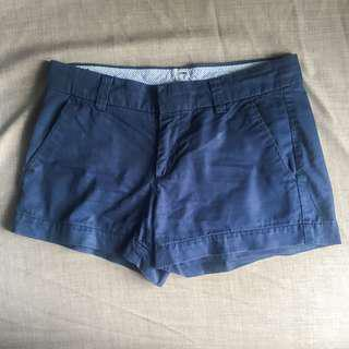 Uniqlo navy blue chino shorts