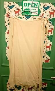 🚚 GUCCI 一片式紗裙 米色 40