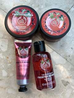 The Body Shop Frosted Berries Set 🍒🍓🍎🎉
