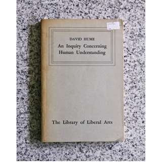 An Inquiry Concerning Human Understanding by David Hume