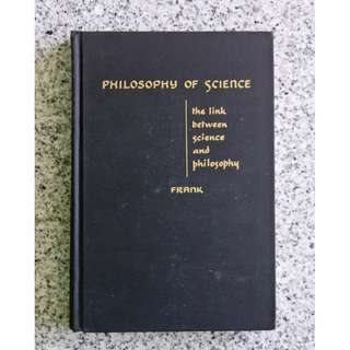 Philosophy of Science: The Link Between Science and Philosophy by Philipp Frank