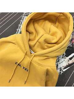 [INSTOCK] Oh Yes Hoodie Oversized